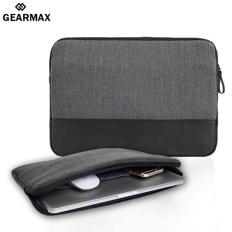 Laptop Accessories Laptop Sleeve 13 13 3 14 15 6 inch Leather Bag Waterproof Notebook Case