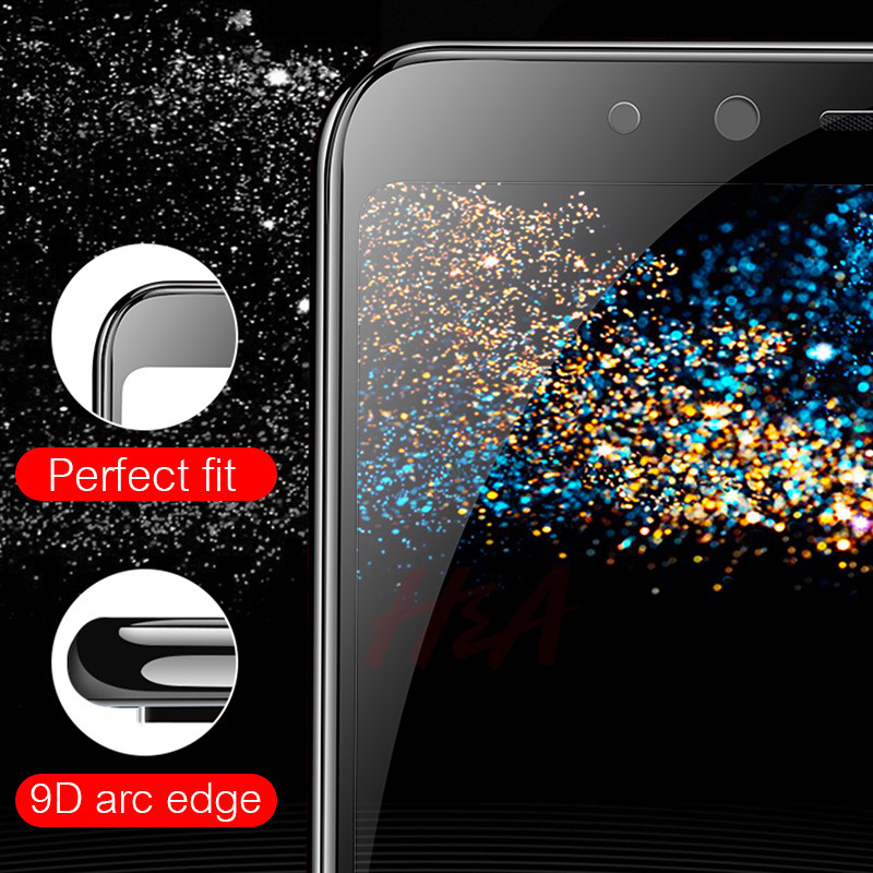 Image 3 - H&A 9D Tempered Glass For Samsung Galaxy J4 Plus J6 J8 A6 A8 A7 2018 Screen Protector A5 A3 A7 2017 Protective Glass Film-in Phone Screen Protectors from Cellphones & Telecommunications