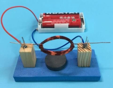 Direct-current Motor Diy Physical Experiment Equipment By Hand Free Shopping