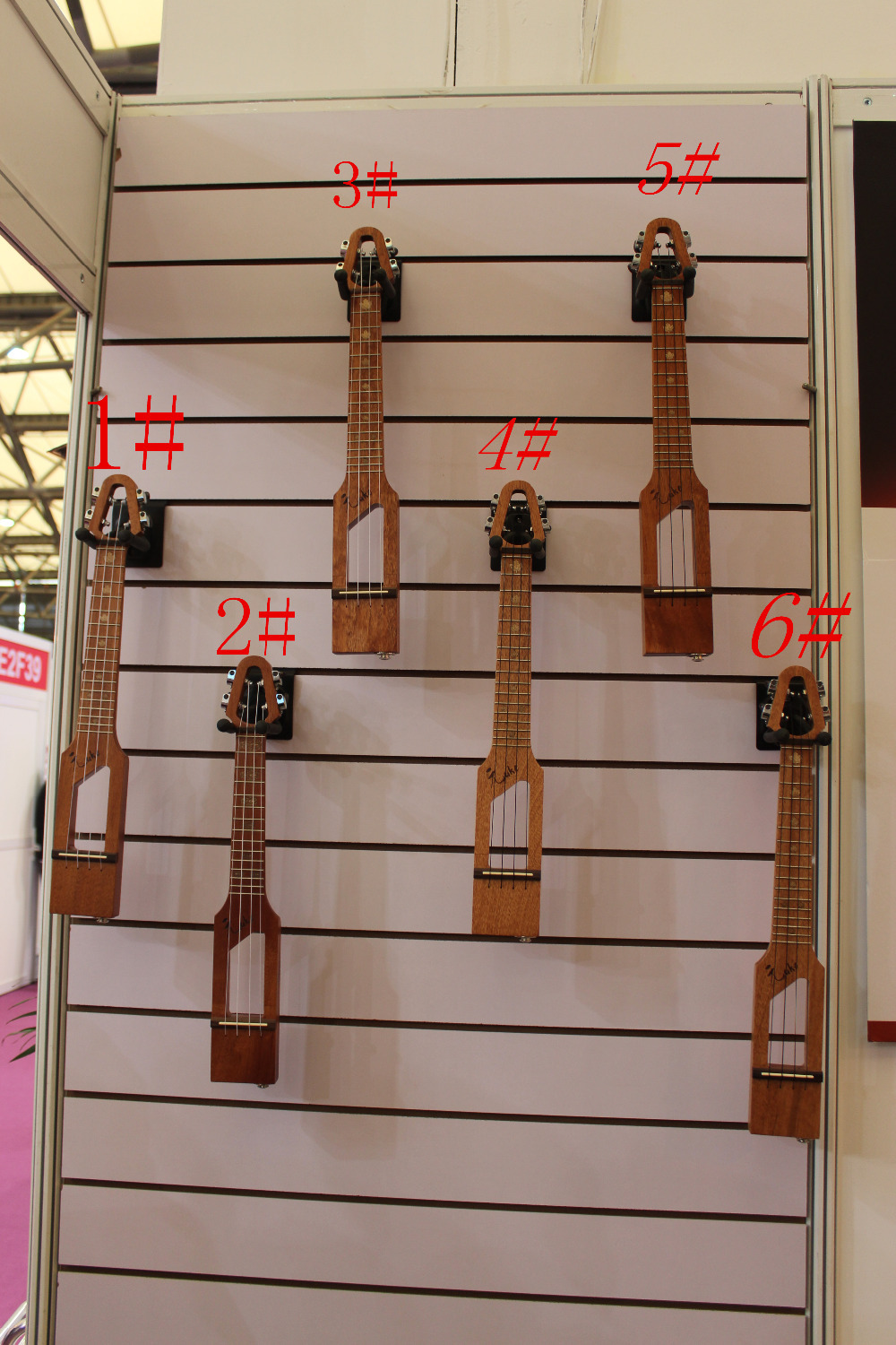 26  Electric UKLL  4 string brown color     #2 the item is the color   if you need other color please tell me margaret wise brown the color kittens