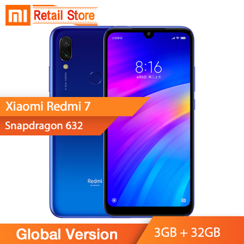 Global Version Xiaomi Redmi 7 3GB RAM 32GB ROM Smartphone Snapdragon 632 Octa Core 12MP Dual Rear Camera 4000mAh Large Battery