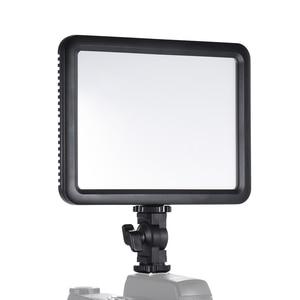 Image 4 - Godox ultra fino ledp120c 3300k ~ 5600k brilho ajustável estúdio de vídeo lâmpada luz contínua para câmera dv filmadora + bateria
