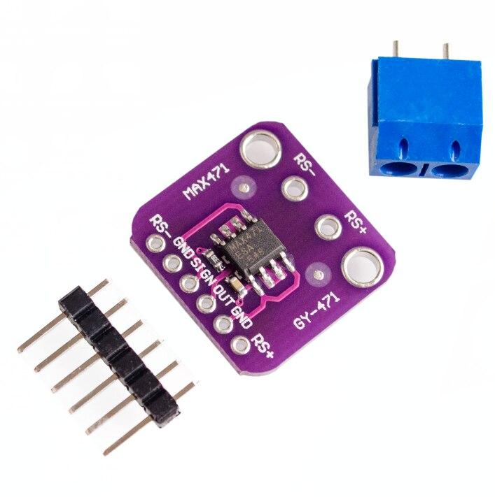 GY-471 3A Range Current Sensor Module Professional MAX471 Module For Arduino, Free Shipment