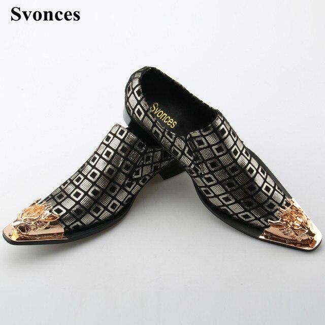 0a8836176 Svonces Artesanal Casamento Dos Homens de Couro Genuíno Sapatos Casuais  Italiano Brogues Oxfords Sapato Formal Do