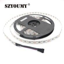 """SZYOUMY 4 в 1 RGBW Светодиодные ленты не обладает водонепроницаемостью: IP20 5050 гибкий светодиодный сигналами """"красный-зеленый-синий белый 4 цвета в 1 светодиодный чип 60 светодиодный/м"""