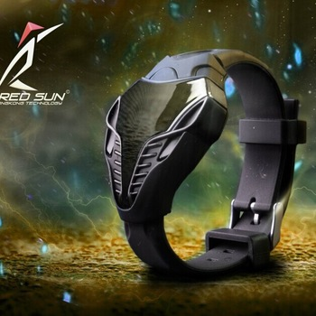 Futuristic Triangle Wristwatch