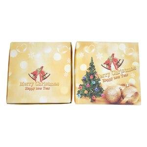 Image 3 - 4 Stuks Kerst Stijl Theelepel Kerst Bestek Bestek Decoratie Accessoires Rvs Koffie Dessert Ijs Lepel
