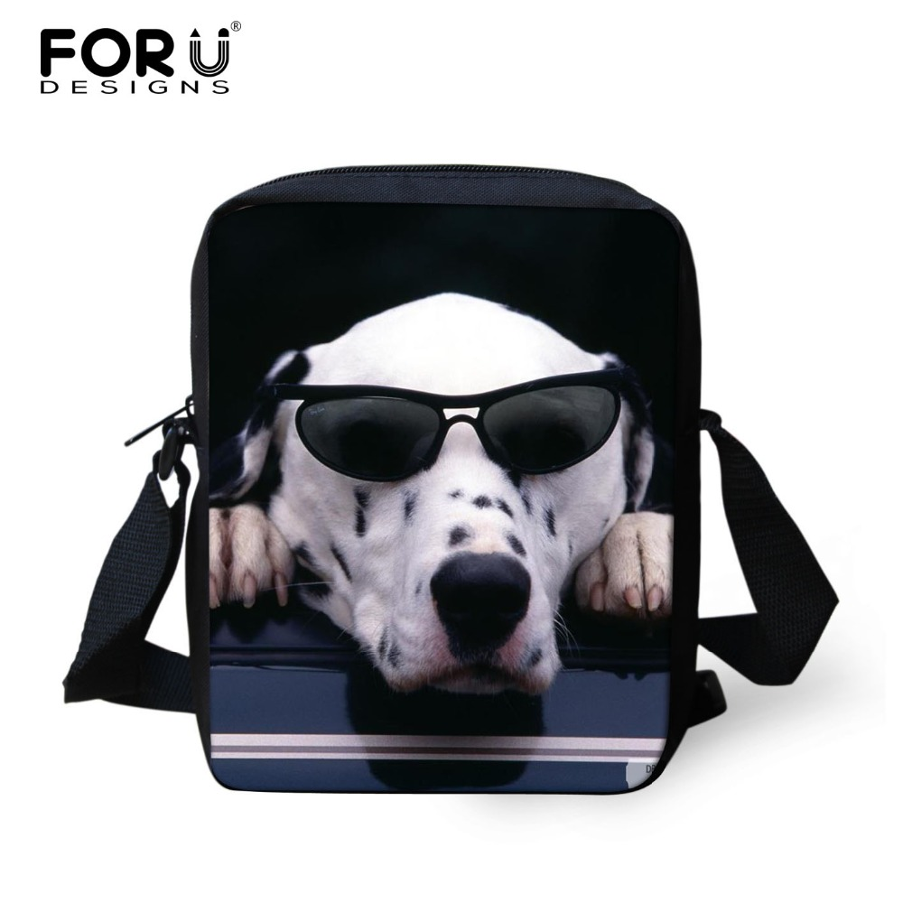 2016 Fashion Children School Bags Pet Dog Animals Print Shoulder Schoolbag Crazy Horse School Bags For Boys Kids Bookbag Mochila