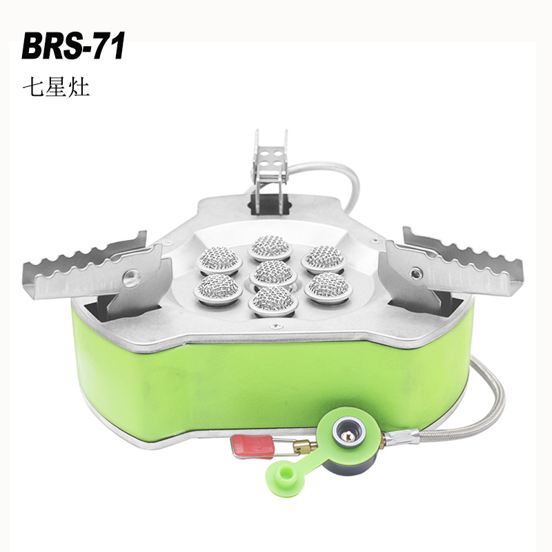 BRS Portable Foldinggas Stove Outdoor Camping Stove Travel Picnic 9800W Gas Burner Butane Gas Stove Windproof