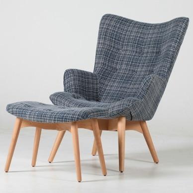 Armchair Chair Flower Chair Chair Nordic Japanese Dolphin Canvas Casual  Restaurant Designer Furniture Sofa