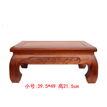 Solid wood carving household act the role ofing is tasted stone Buddha vase flowerpot handicraft furnishing articles on sale