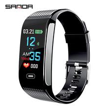 SANDA Bluetooth Smart Watch Waterproof Heart Rate Relogio Masculino Sport Smartwatch Watch Men Watch Reloj Hombre Android IOS