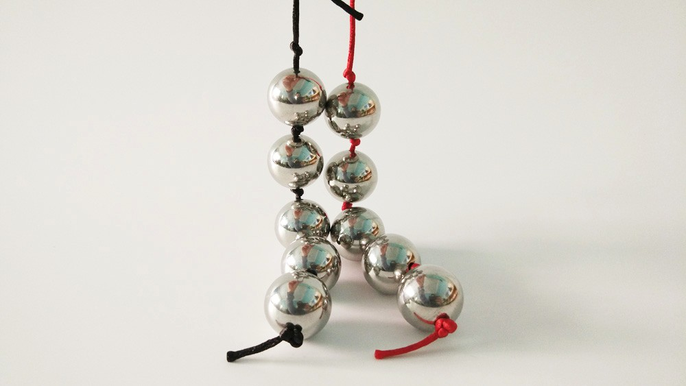 SHELE Anal Balls Stainless Steel Anal Beads Butt Plug Metal Kegel Ball Vagina Ben Wa Balls Buttplug Sex Toys For Women/Men/Gay 12