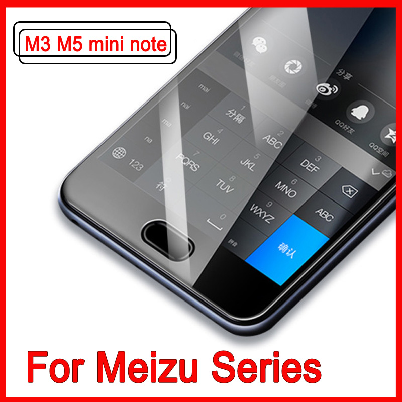 Full Cover Tempered Glass For Meizu M3 M5 Note Mini Screen Protector For Meizu M 5 Note M3 Mini Protective 9H Hardness Film Case
