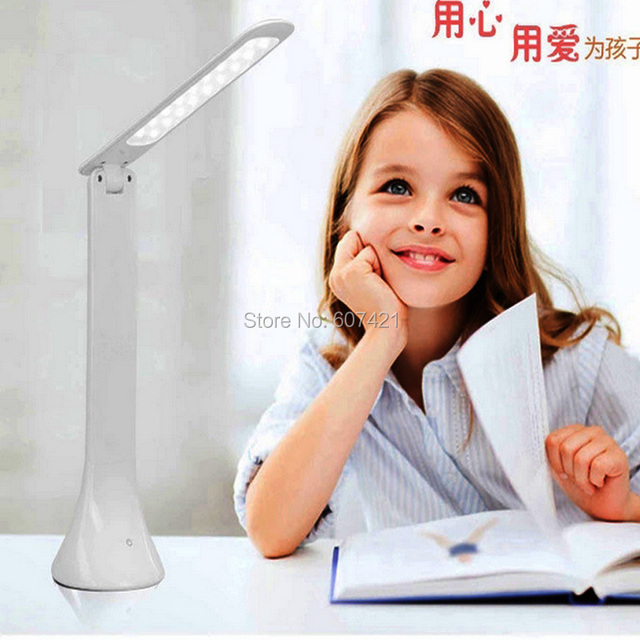 LED Desk Lamp Eye-caring Table Lamp, Energy Efficient LED Lamp ,Touch Control, USB Charging Port (No adapt Include)