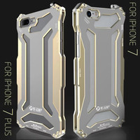 R Just Climbing Aluminum Back Cover Case For Iphone 7 Plus 5 5 Shockproof Outdoor Aviation