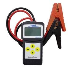 LANCOL MICRO 200 dijital 12V CCA araba akü yükü test edicisi akü analizörü baskı fonksiyonu ile araba kötü hücreleri Diaglostic