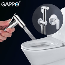 Gappo Bidet Faucets Brass Bathroom shower tap bidet toilet sprayer Bidet toilet washer mixer muslim shower ducha higienica G7248(China)