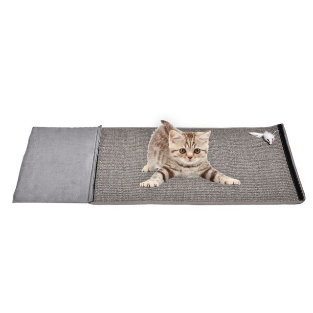 2018 Sofa Furniture Protector Pad Cat Scratching Mat Post Toy For Natural Sisal Cats