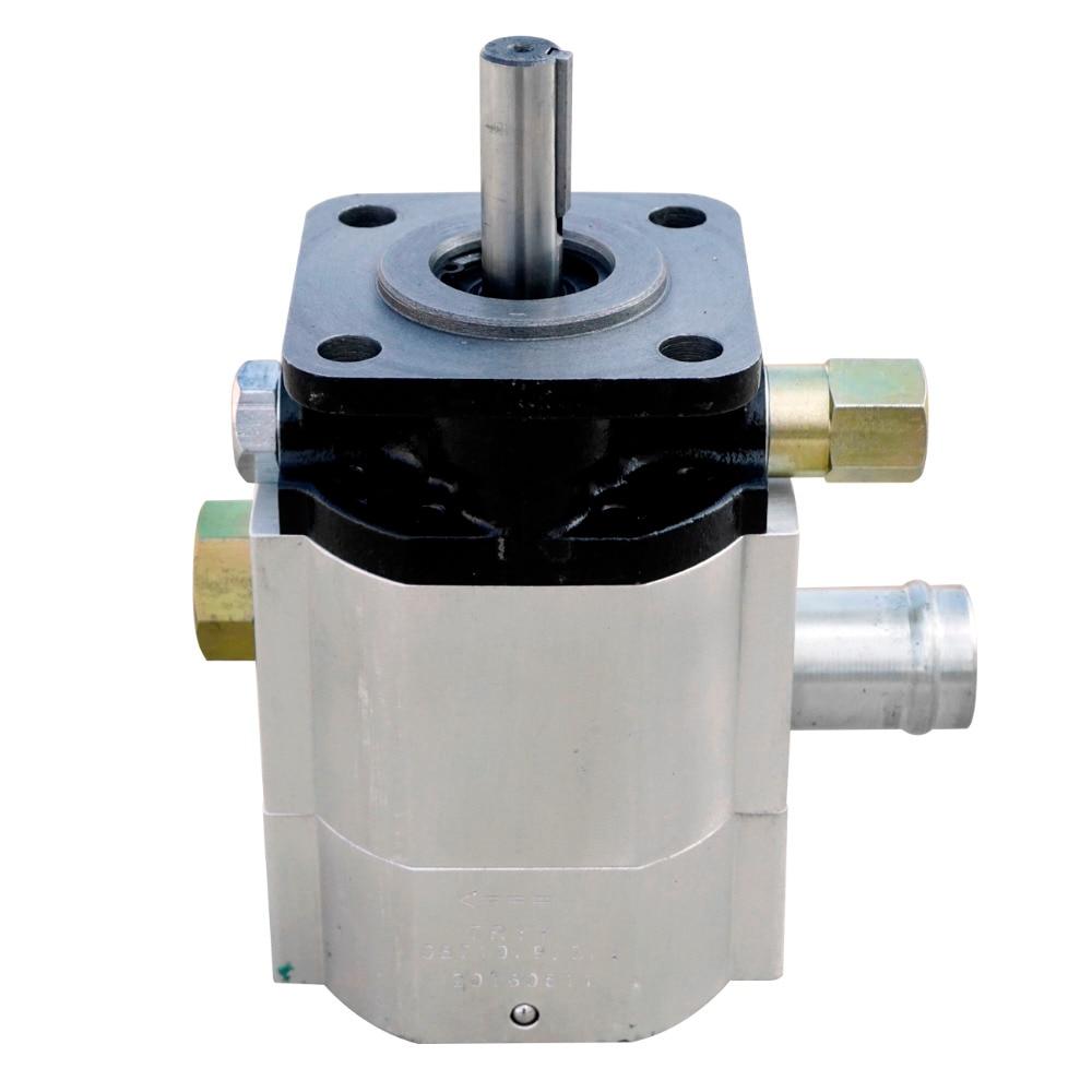 NEW Hydraulic 16 gallon Two 2 Stage Gear Pump 16 GPM Logsplitter Hi Lo Low Log Splitter