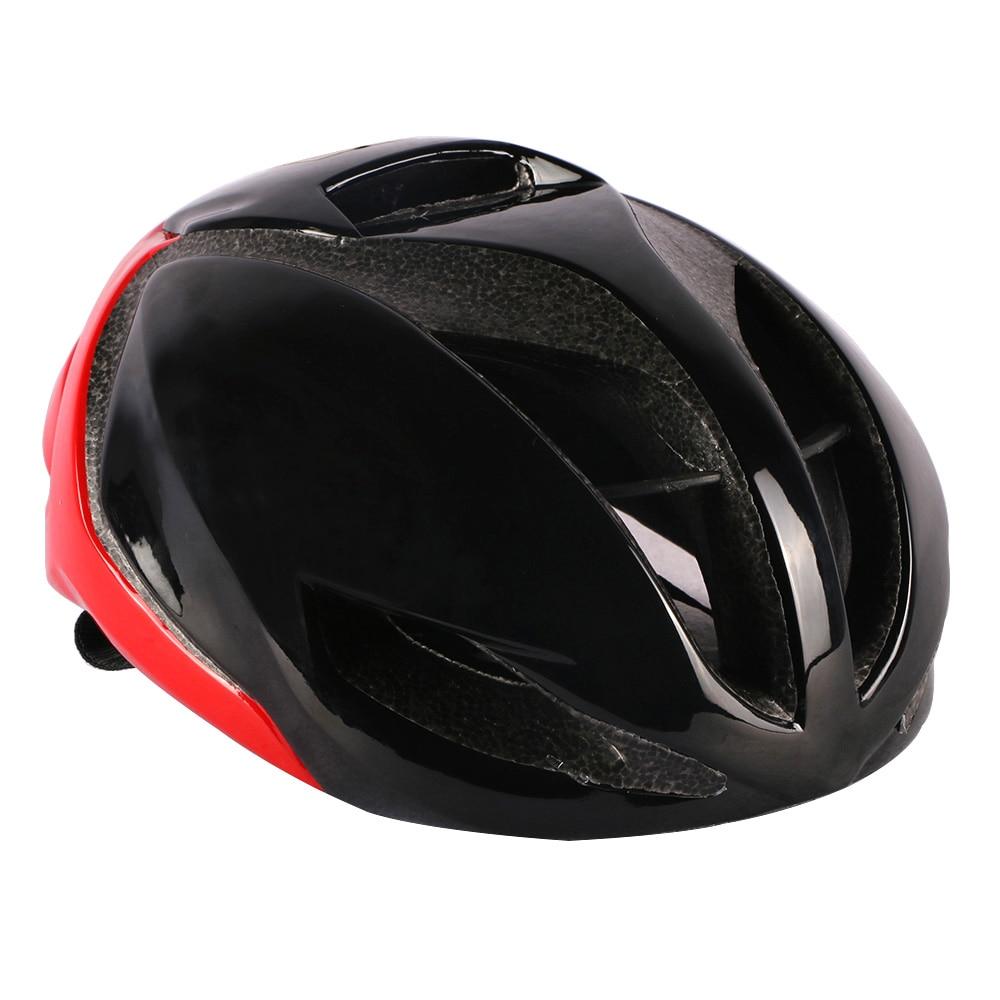 Red Cycling Helmet Road Bike Helmet Aero Helmet Adult Men Race Bicycle Helmet for Bike Equipment