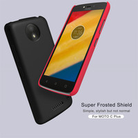 10pcs Lot Wholesale NILLKIN Super Frosted Shield Case For Moto C Plus 5 0 Inch PC