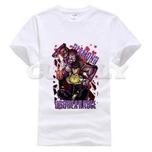 2019 New T-shirt Jojo Bizarre Adventure Thsirt Large Size Japan Anime Cartoon Comics Summer Dress Men Tee Funny T Shirt Cozy