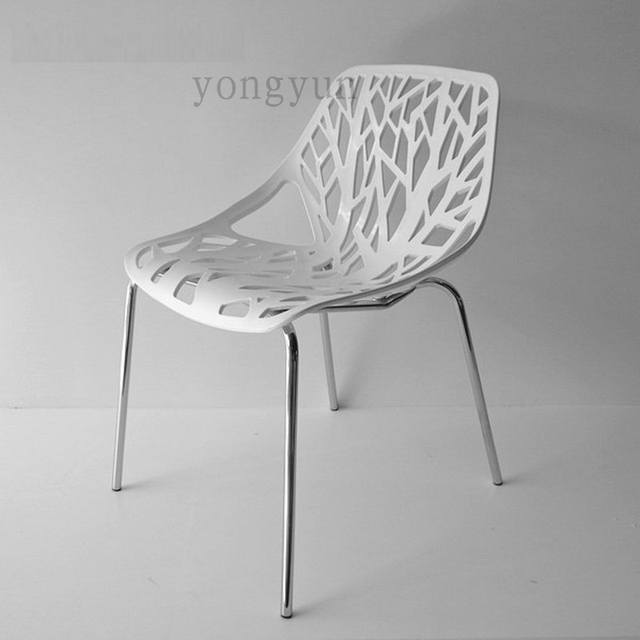 replik caprice stuhl ess berhmte design die bltter pflanze minimalistischen modernen mode mbel metall kunststoff esszimmerstuhl - Stuhl Replik