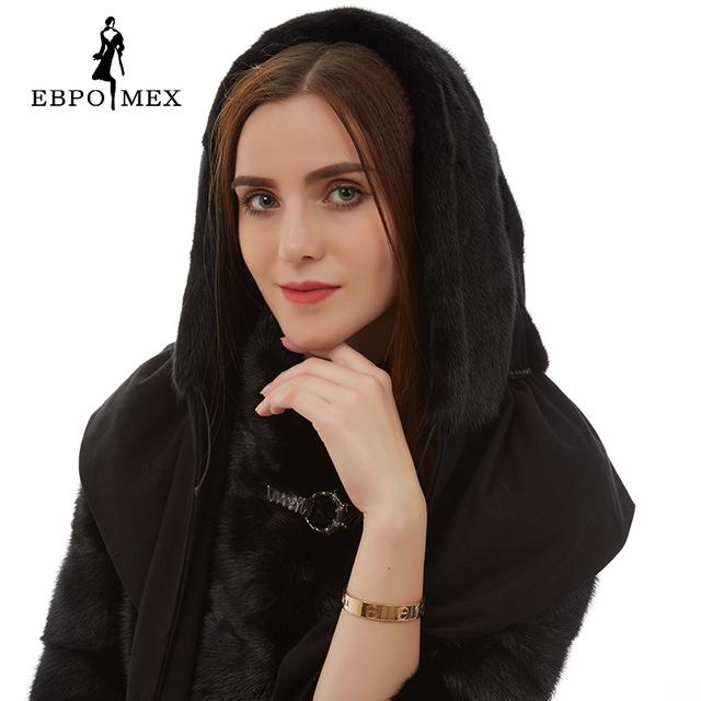 Nueva llegada Linda piel de visón sombreros Calientes del invierno Negro de piel sombreros moda sombrero ruso de piel de visón real sombrero de piel de invierno de las mujeres