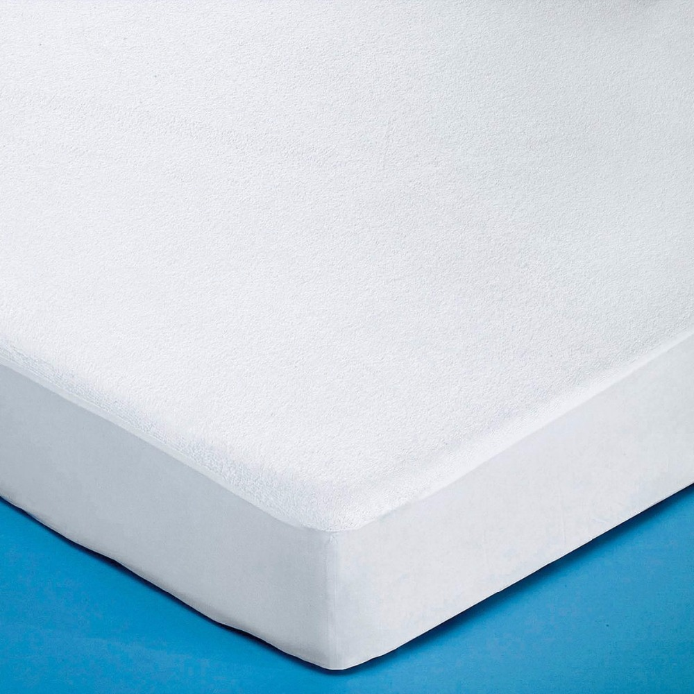 160x200cm Terry Waterproof Mattress Cover Bed Bugs Proof Bacteria Machine Washable Deep Pocket Protector