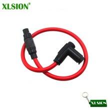 XLSION 8,8 мм двухъядерный гоночный силовой кабель для катушки Зажигания Провод для ATV Dirt Pit Bike Go Kart скутер мотоцикл