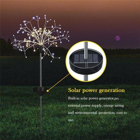 fadas solares 120 leds a prova d