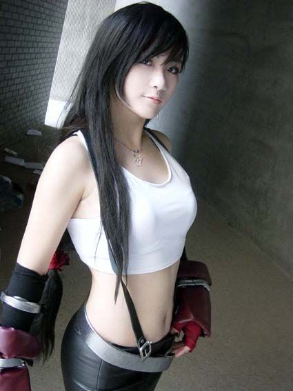 final lockhart Fantasy girl tifa