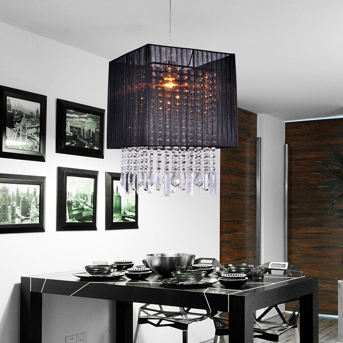 32*32cm Crystal Pendant Light For Dining Room E27 Crystal Round Lamp Living Room Lights Curtain Lights WPL084 modern crystal chandelier light for dining room e14 crystal chandeliers living room round lights curtain lights wpl091