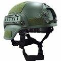 Военная Mich 2000 Тактический Шлем Страйкбол Передач Пейнтбол Head Protector с Ночного Видения Камера Спорта Крепление