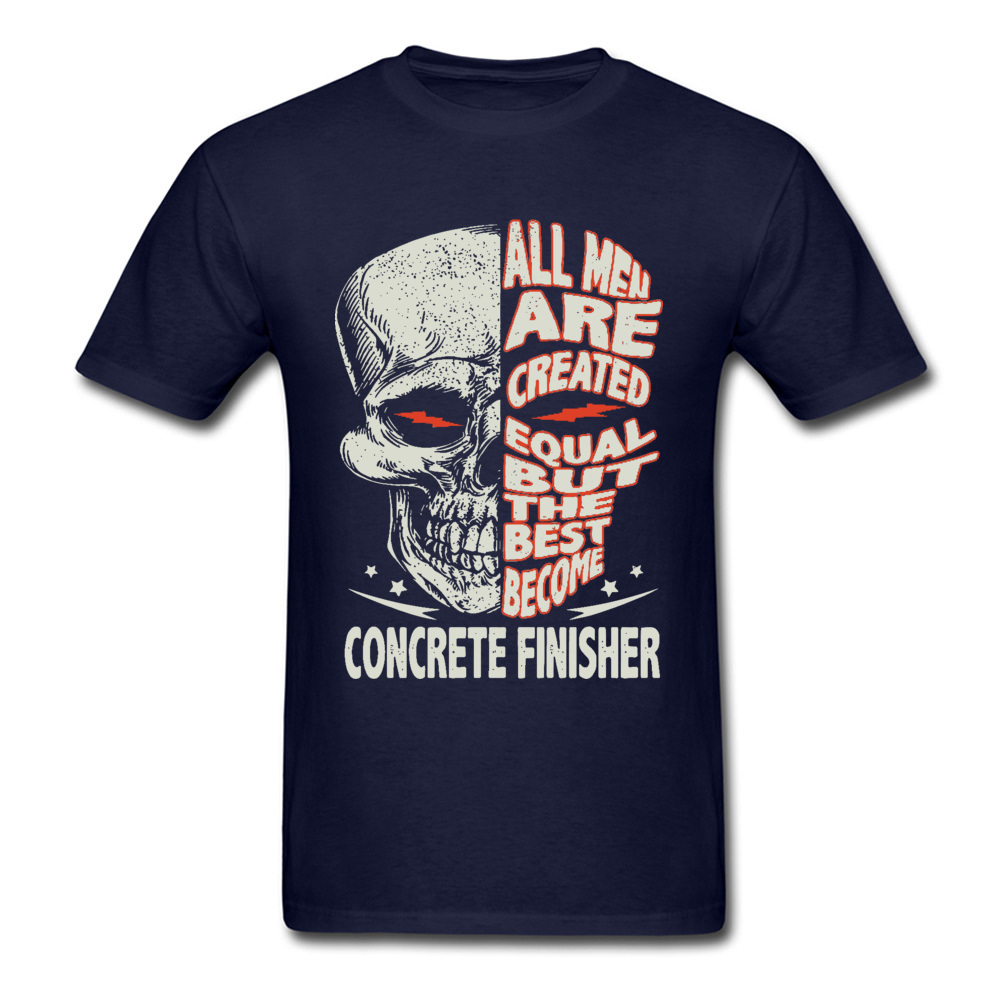 Concrete Finisher Become Bike Skull Vintage O Neck T Shirt Summer Custom Tees Discount 100 Cotton Motorcycle T shirts Mens in T Shirts from Men 39 s Clothing