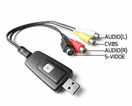 Video Grabber game box - Convert VHS Tapes to Digital Format! External USB  Video Grabber/Capture Card(DVD Maker)