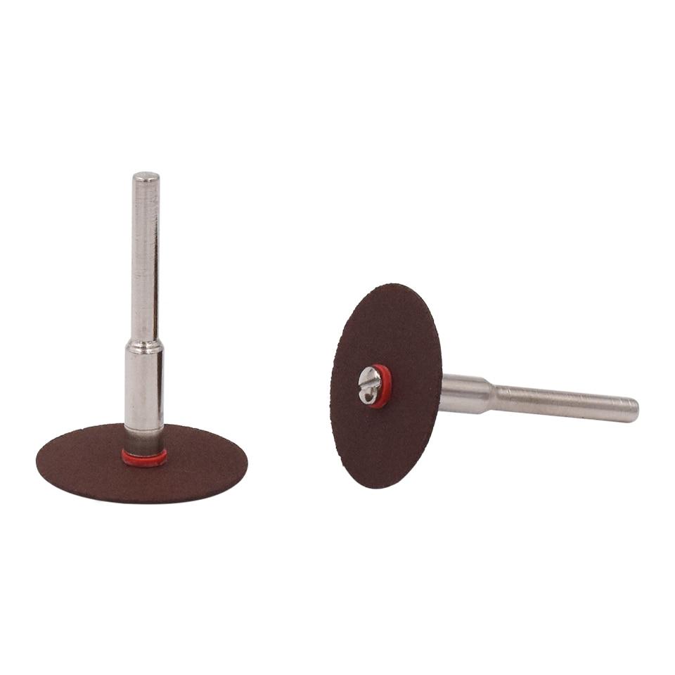 36 pcs 24mm Résine Cut-off Wheel Disque De Coupe Kit Pour Dremel - Outils abrasifs - Photo 2