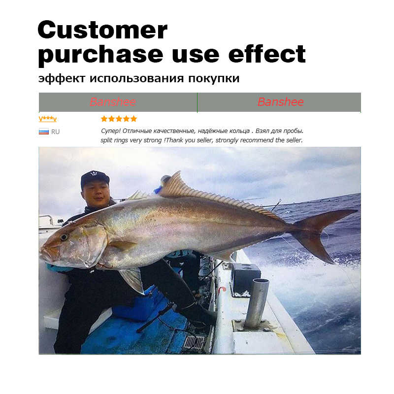 60/100Pcs דיג טבעות נירוסטה פיצול טבעות באיכות גבוהה לחזק מוצק טבעת חיבור פיתוי טבעת דיג אביזרים