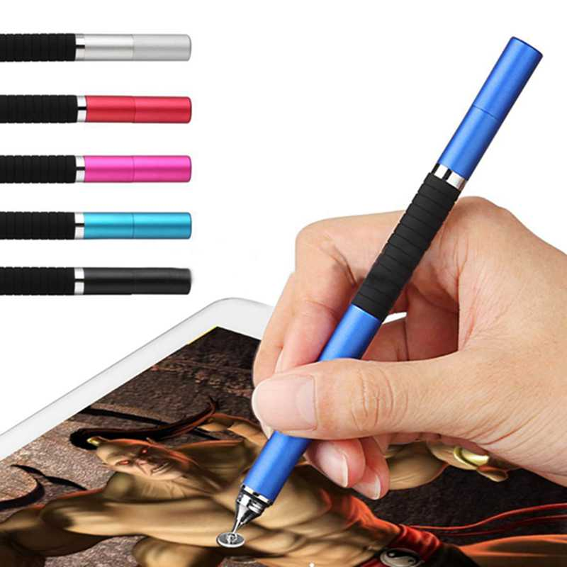 2in1 Precision Thin Capacitive Touch Screen Stylus Pen For IPhone IPad Phone