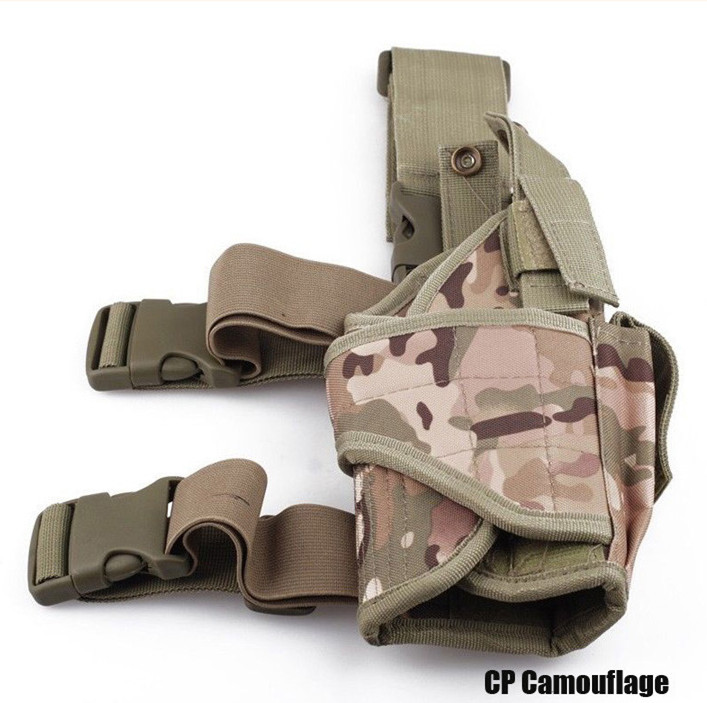 Slippers Reasonable Adjustable Black Outdoor Hunting Waterproof Military Tactical Puttee Thigh Leg Pistol Gun Holster Pouch Women's Shoes