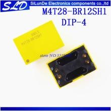 จัดส่งฟรี 10 ชิ้น/ล็อต M4T28 BR12SH1 M4T28 DIP   4 ใหม่และต้นฉบับสต็อก