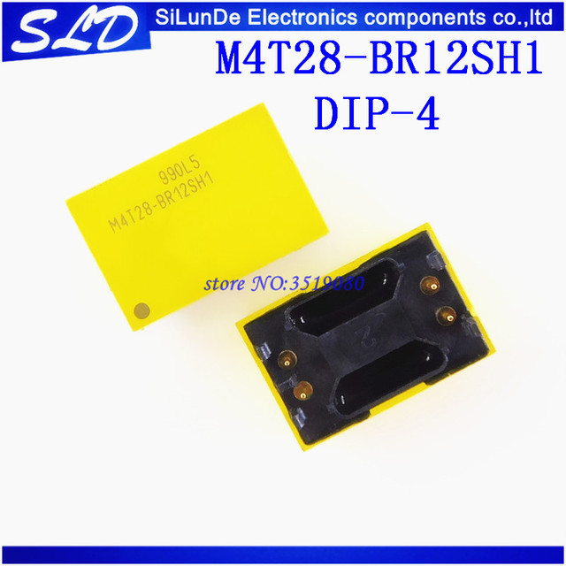Free Shipping 10pcs/lot  M4T28 BR12SH1 M4T28 DIP 4  new and original in stock