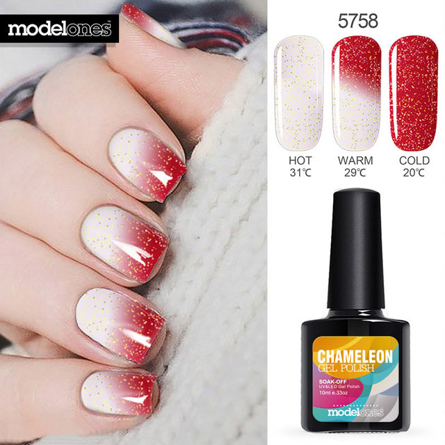 10ML Temperature Change Color Thermal Gel Polish UV