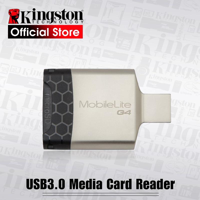 Kingston Micro SD Card Reader Multi-function USB 3.0 Micro USB Memory Card Reader USB 2.0 Flash SD Adapter For Mirosd SD Card super hi speed usb 3 0 micro sd tf sd ms m2 card reader white max 64gb