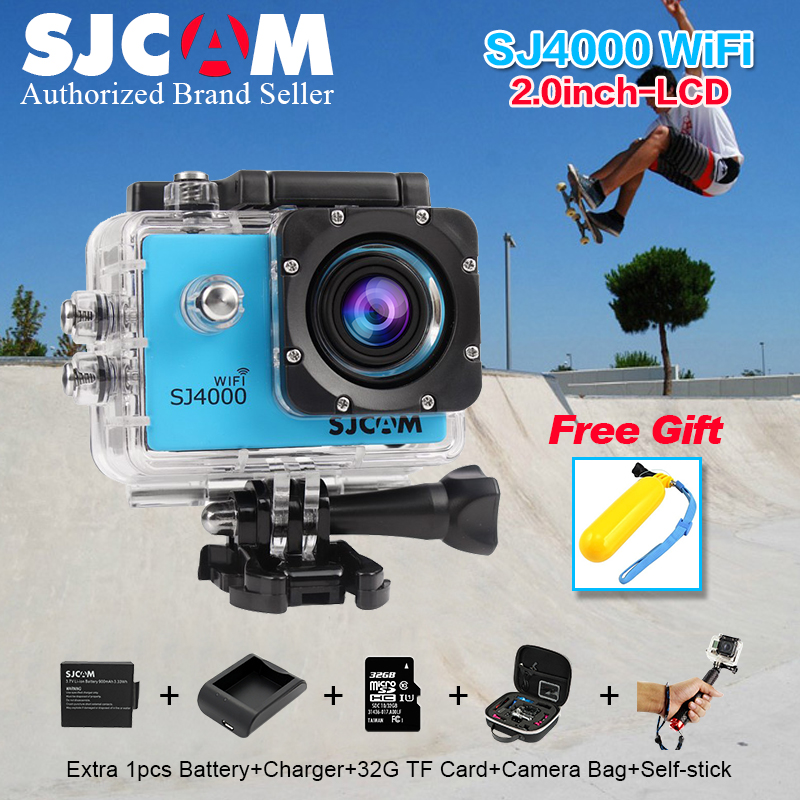 Original SJCAM SJ 4000 WIFI 2 0 Sport Action font b Camera b font 1080P Full