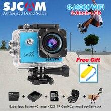 Original SJCAM SJ 4000 WIFI 2.0 Cámara de Acción Deporte 1080 P Full HD Impermeable Acción Videocámaras Casco cámara gopro Deporte sj 4000
