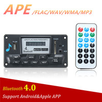 LEORY Professional Wireless Bluetooth 4 0 12V MP3 Decoder Board Audio Module MP3 WMA WAV APE