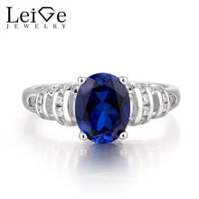 Leige Jewelry Sapphire Ring Engagement Ring font b September b font font b Birthstone b font