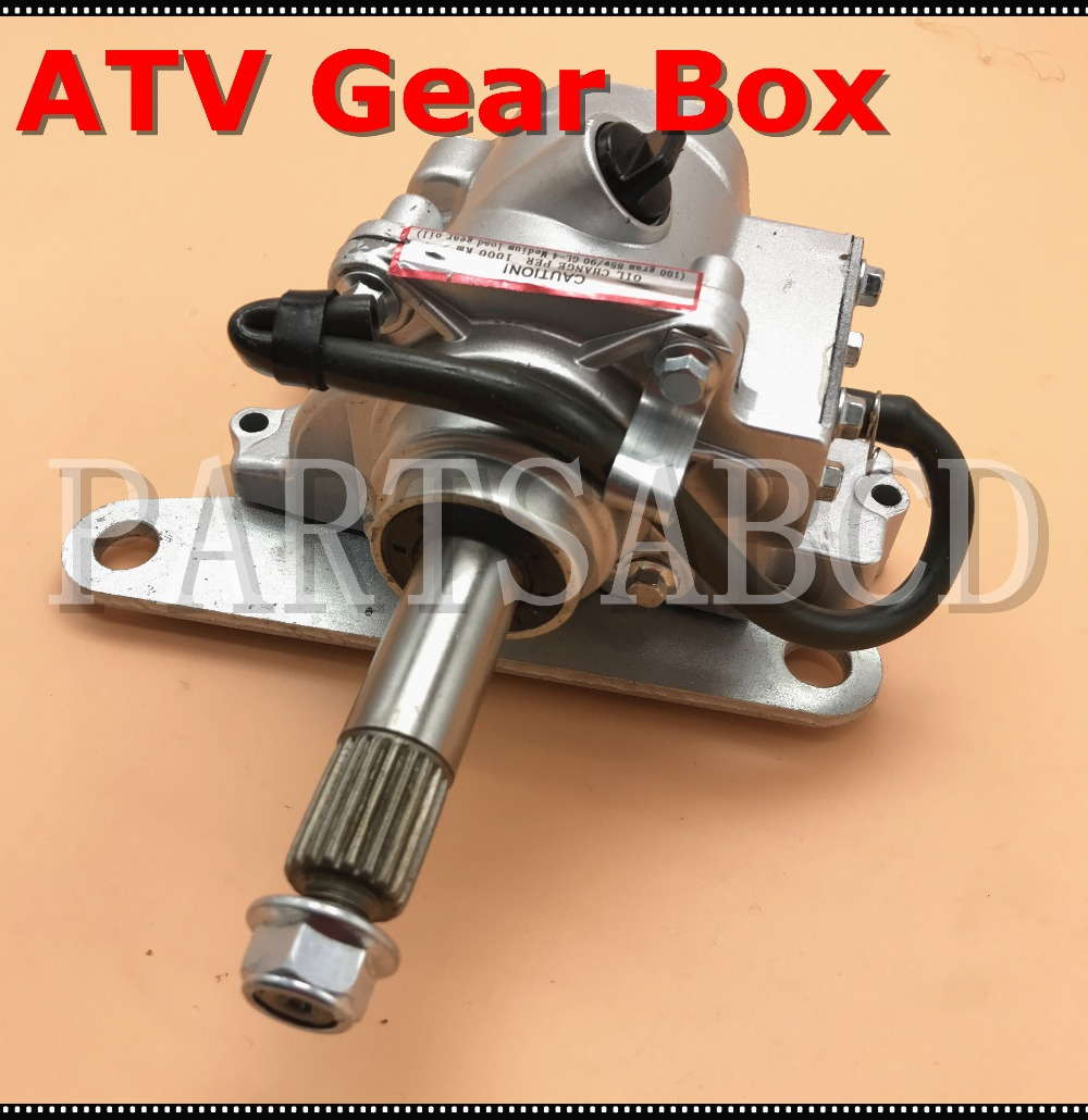 Atv reverse gear box 150cc 200cc 250cc atv quad parts china